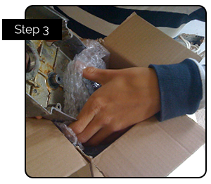 Step 3. Box Up Your Parts And Send Them In